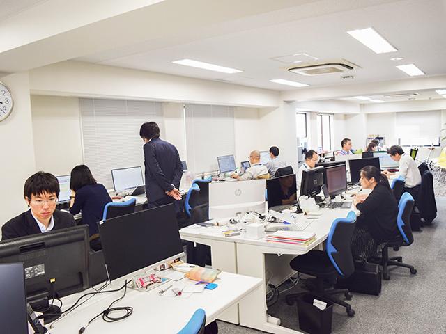サポータス東京:執務エリア